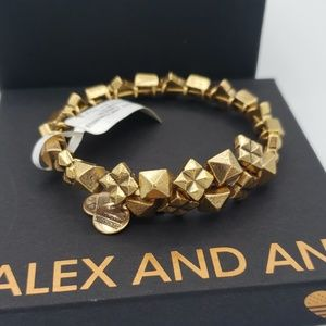NWT Alex and Ani Starstruck gold wrap